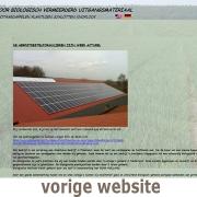 Vorige website van Carel Bouma Biologisch Pootgoed Plantgoed