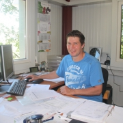 Carel op kantoor
